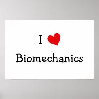 私は生物力学を愛します ポスター