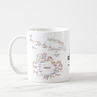 私は生物化学のマグ- Tazza amoのlaのbiochimica --を愛します コーヒーマグカップ