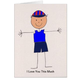 私は男の子愛します カード