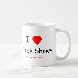 私は異常なショーのマグを愛します コーヒーマグカップ