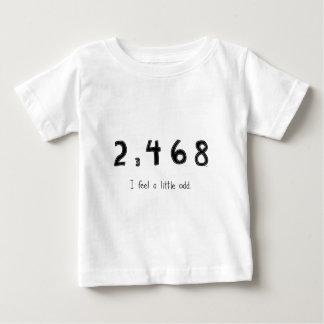 私は異様な少しを感じます ベビーTシャツ