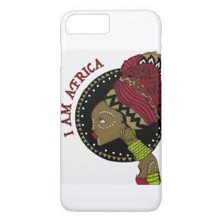 私は白のカバーとアフリカIの電話6/6Sです iPhone 8 PLUS/7 PLUSケース