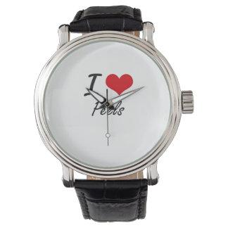 私は皮を愛します 腕時計