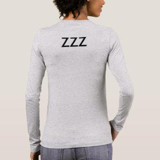 私は睡眠のワイシャツを愛します 長袖Tシャツ