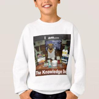 私は知識犬の本物のオリジナルです スウェットシャツ
