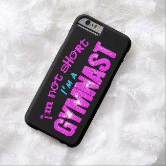 私は短くないです、私は体育専門家のピンクおよび青です BARELY THERE iPhone 6 ケース