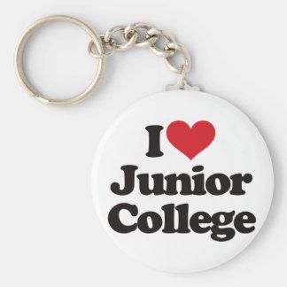 私は短期大学を愛します! キーホルダー