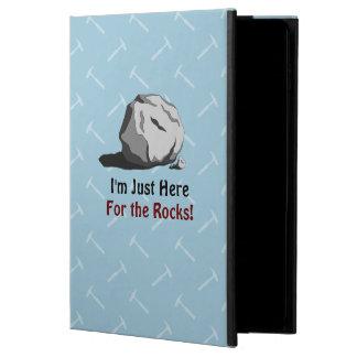 私は石のためにちょうどここにいます! POWIS iPad AIR 2 ケース