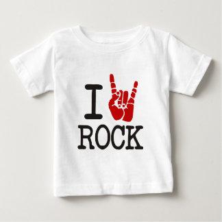 私は石を愛します ベビーTシャツ