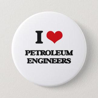 私は石油エンジニアを愛します 7.6CM 丸型バッジ