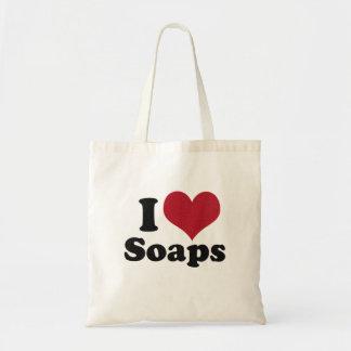 私は石鹸を愛します トートバッグ