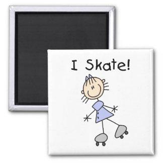 私は磁石棒の姿のスケートで滑ります マグネット