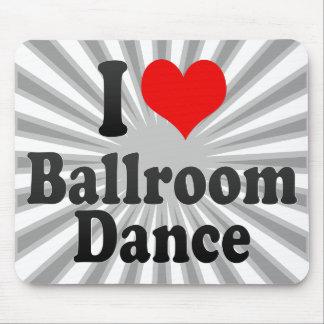 私は社交ダンスを愛します マウスパッド