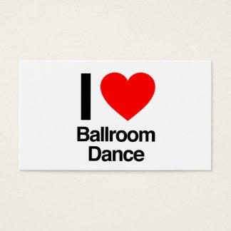 私は社交ダンスを愛します 名刺