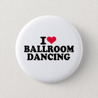 私は社交ダンスを愛します 5.7CM 丸型バッジ