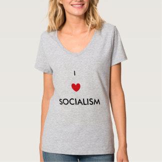 私は社会主義のTシャツを愛します Tシャツ