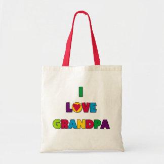 私は祖父のTシャツおよびギフトを愛します トートバッグ