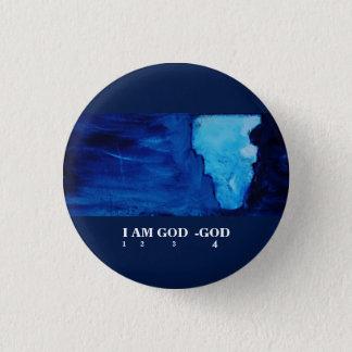 私は神です。-神 3.2CM 丸型バッジ