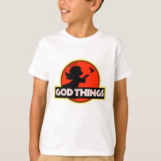 私は神の事-少し天使で信じます Tシャツ