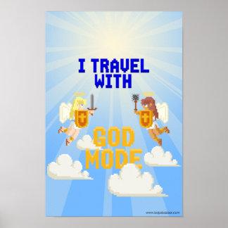 私は神モードと旅します ポスター