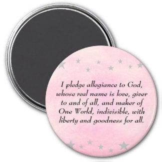 私は神、磁石に忠誠を誓約します マグネット