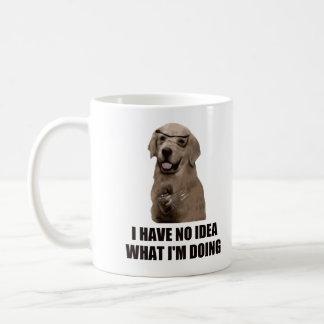私は私がしていることがわかりません コーヒーマグカップ