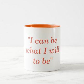 私は私がであるものでもいいです ツートーンマグカップ