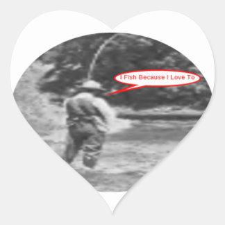 私は私がに愛するので採取します ハートシール
