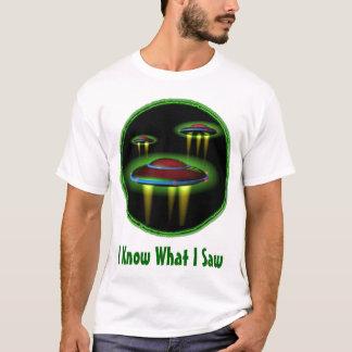私は私がメンズワイシャツを見たもの知っています Tシャツ