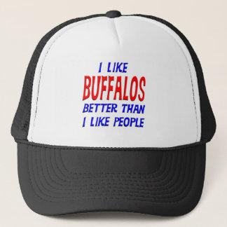 私は私が人々の帽子を好むよりよいバッファローを好みます キャップ