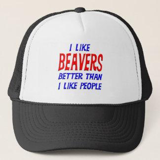 私は私が人々の帽子を好むよりよいビーバーを好みます キャップ