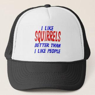 私は私が人々の帽子を好むよりよいリスを好みます キャップ