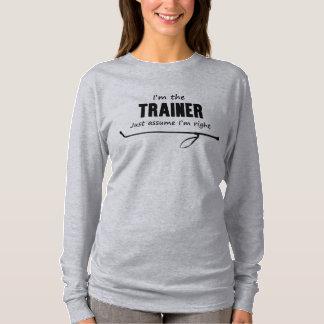 私は私が右のワイシャツであることをトレーナーちょうど仮定しますです Tシャツ