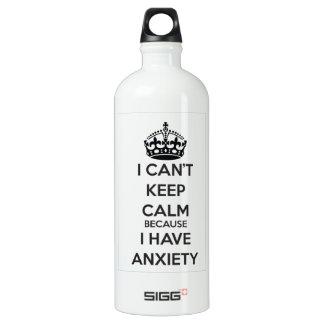 私は私が心配を有するので平静を保つことができません SIGG トラベラー 1.0L ウォーターボトル