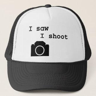 私は私が撃つことを見ました キャップ