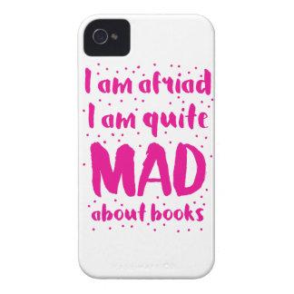 私は私が本についてかなり気違いであることを恐れています Case-Mate iPhone 4 ケース