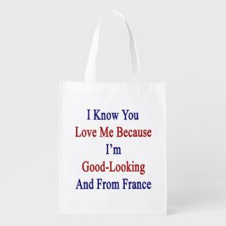 私は私が格好良く、Frであるので私を愛することを認知しています 買い物袋
