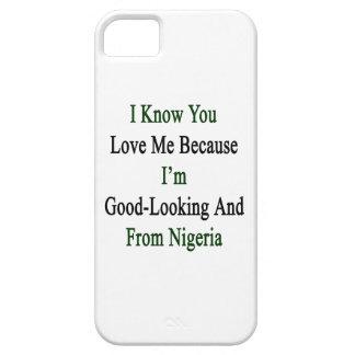 私は私が格好良く、Frであるので私を愛することを認知しています iPhone SE/5/5s ケース