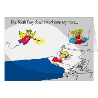 私は私によってが丘疹の妖精である歯の妖精ではないです カード
