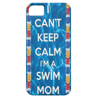 私は私によってが水泳のお母さんである平静を保つことができません iPhone SE/5/5s ケース