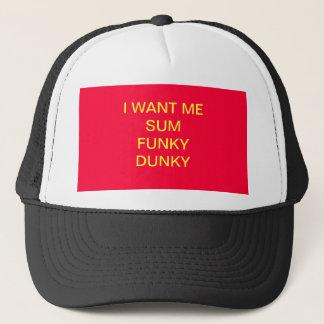 私は私にファンキーなDUNKYの帽子を総計してほしいです キャップ