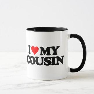 私は私のいとこを愛します マグカップ