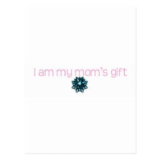 私は私のお母さんのギフトです ポストカード