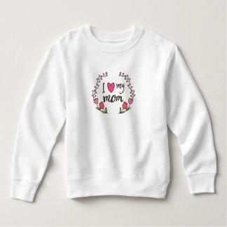 私は私のお母さんの母の日|のスエットシャツを愛します スウェットシャツ