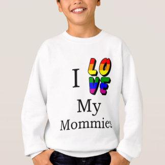 私は私のお母さんを愛します スウェットシャツ