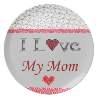 """""""私は私のお母さん""""の収集できるプレート愛します プレート"""