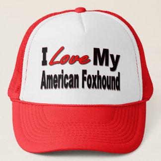 私は私のアメリカFoxhound犬の商品を愛します キャップ