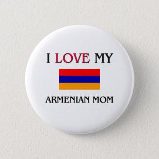 私は私のアルメニアのお母さんを愛します 5.7CM 丸型バッジ
