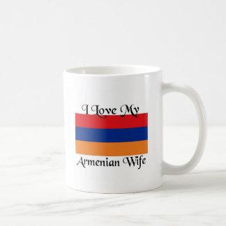 私は私のアルメニアの妻を愛します コーヒーマグカップ