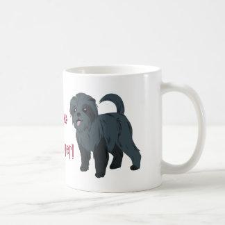 私は私のアーフェンピンシャーを愛します! コーヒーマグカップ